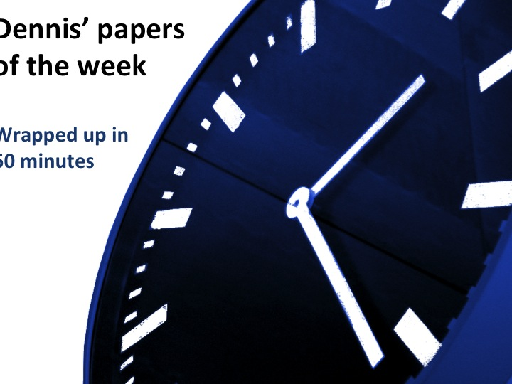 Paper of the week
